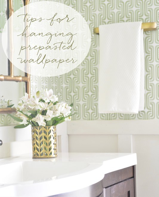 Hanging Prepasted Wallpaper Video