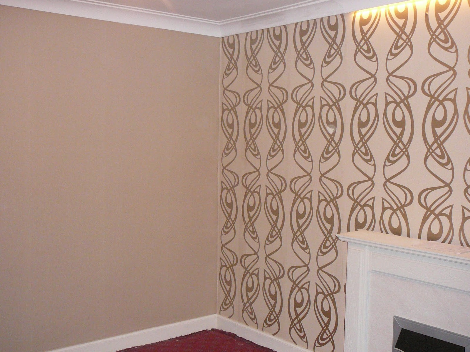 Hanging Wallpaper On A Feature Wall