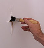Hanging Wallpaper Over Lining Paper