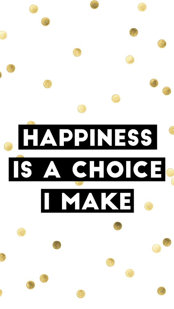 Happiness Is A Choice Wallpaper
