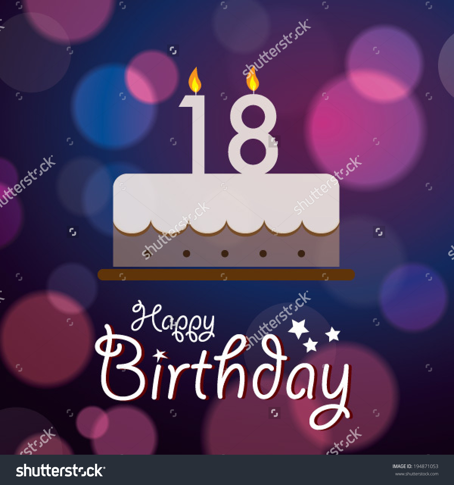 Happy 18 Birthday Wallpaper