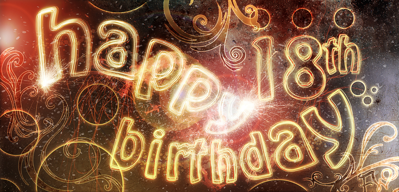 Download Happy 18 Birthday Wallpaper Gallery