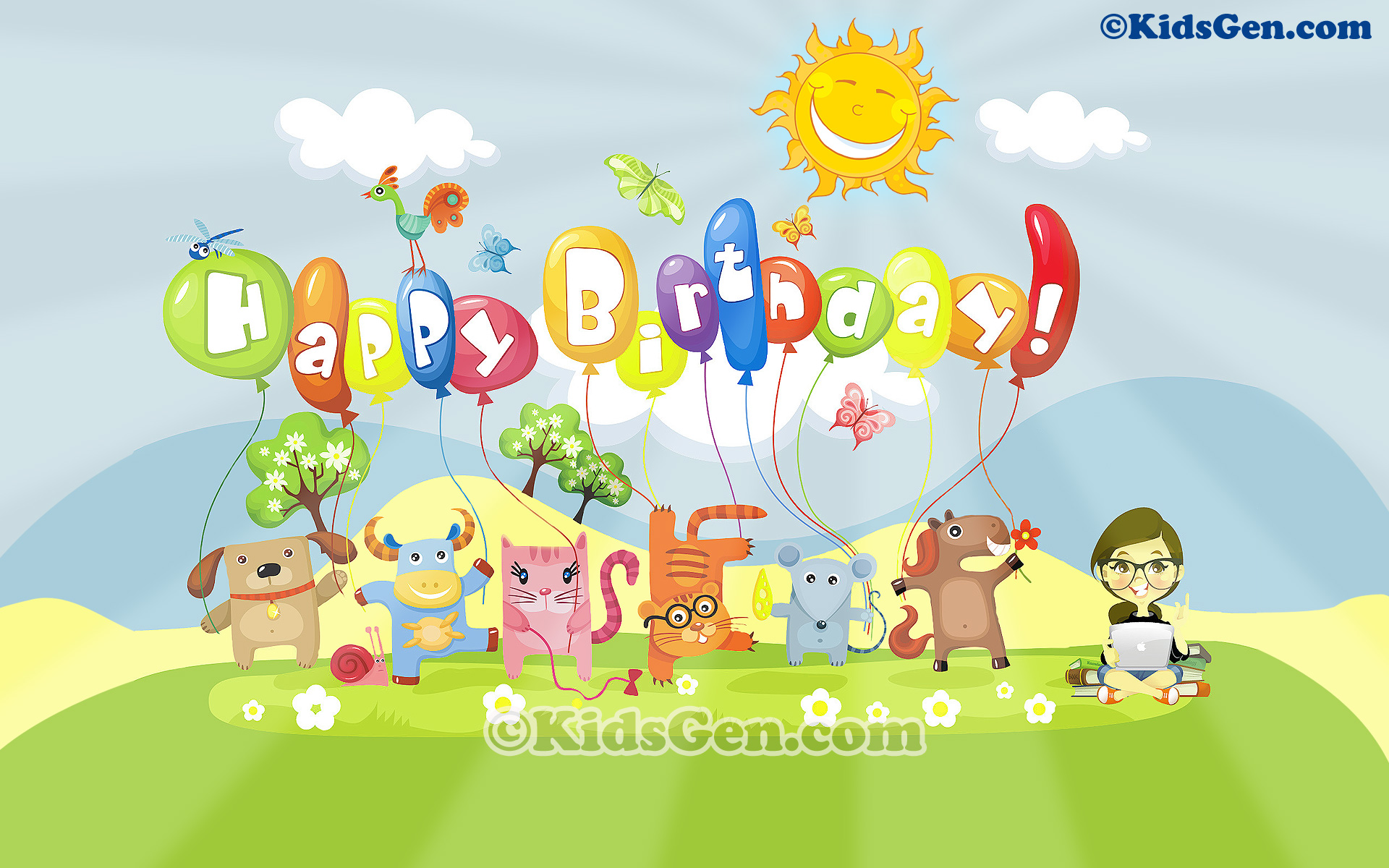 Download Happy 1st Birthday Wallpaper Gallery