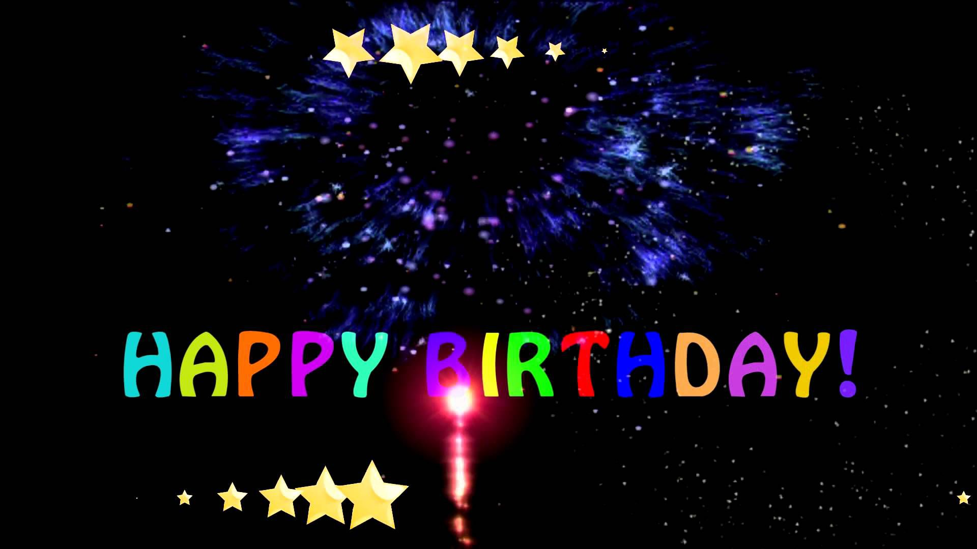 download happy birthday animated wallpaper free download
