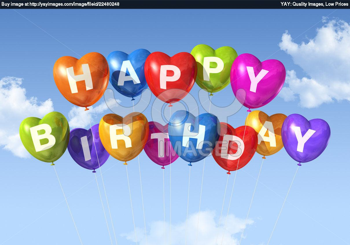 Download Happy Birthday Balloons Wallpaper Gallery