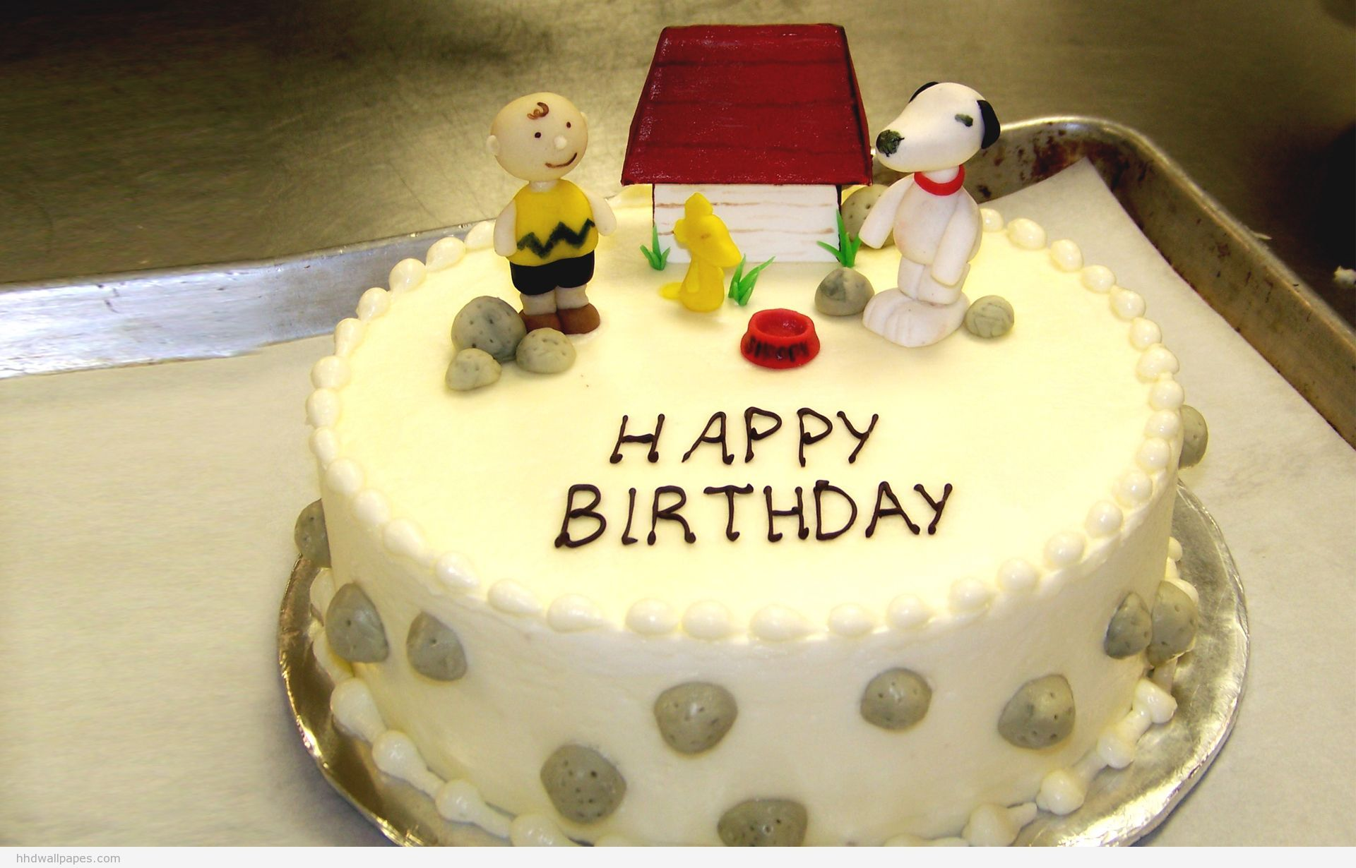 Download Happy Birthday Cake With Name Wallpaper Gallery