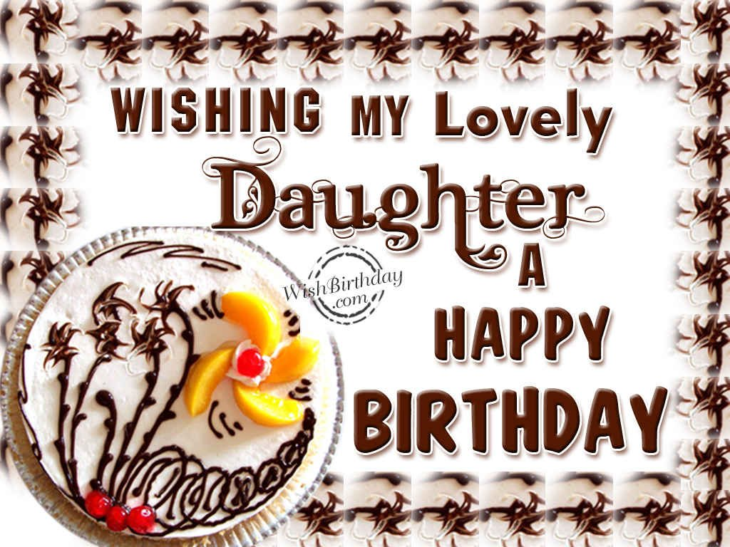Happy Birthday Daughter Wallpaper