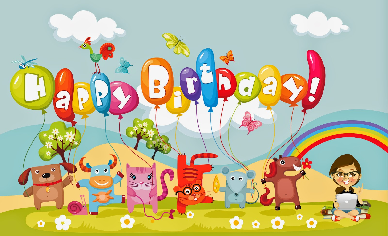 Happy Birthday Kids Wallpaper
