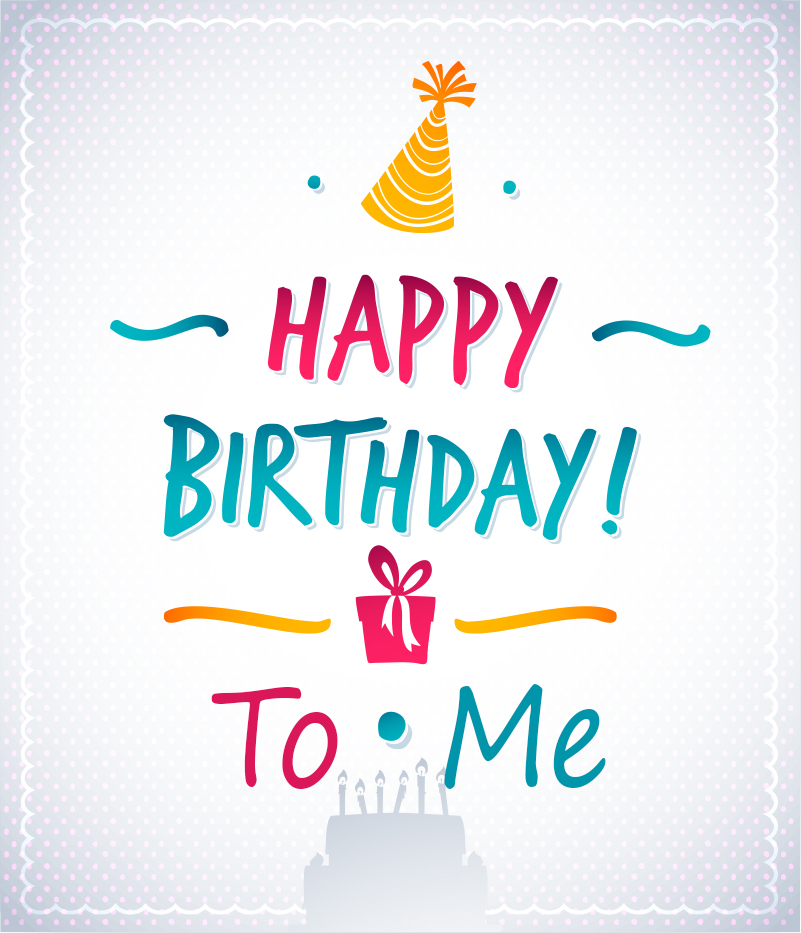 25th Birthday Quotes For Myself: Download Happy Birthday To Me Wallpaper Gallery