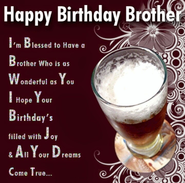 Happy Birthday To My Brother Wallpaper