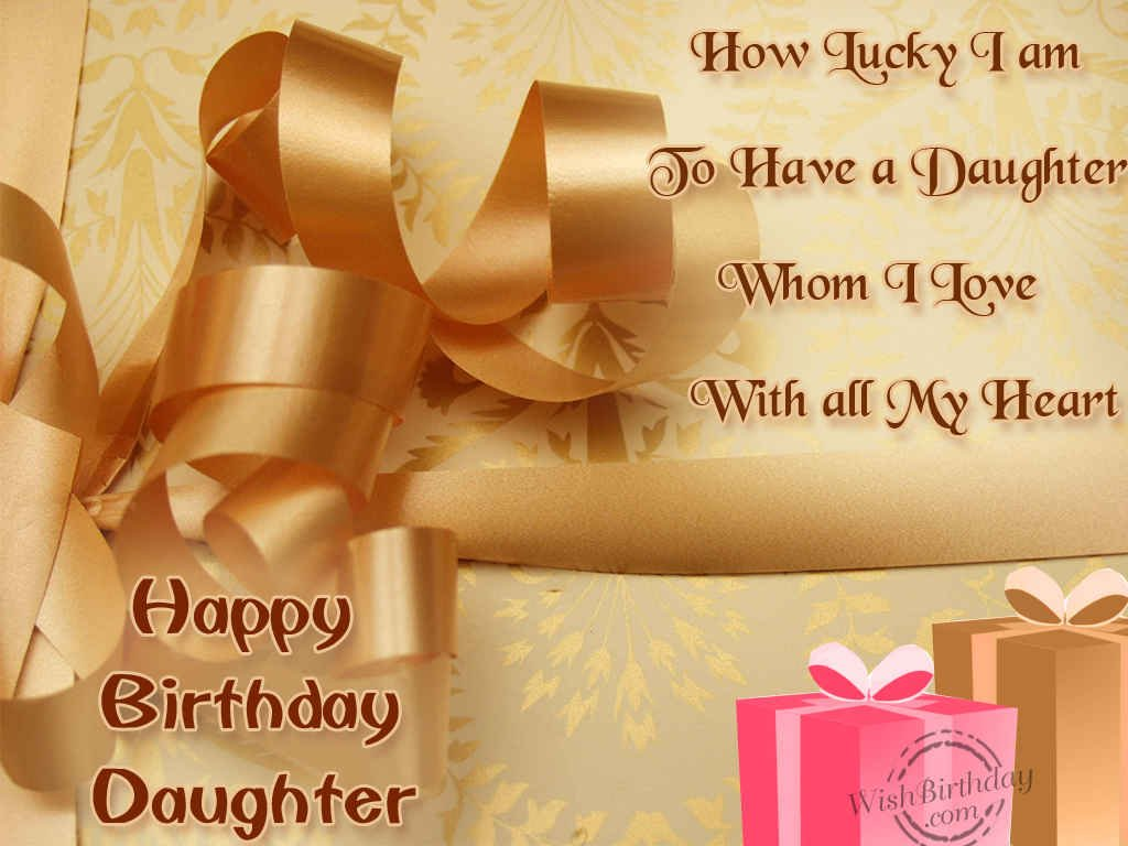 Happy Birthday Wallpaper For Daughter