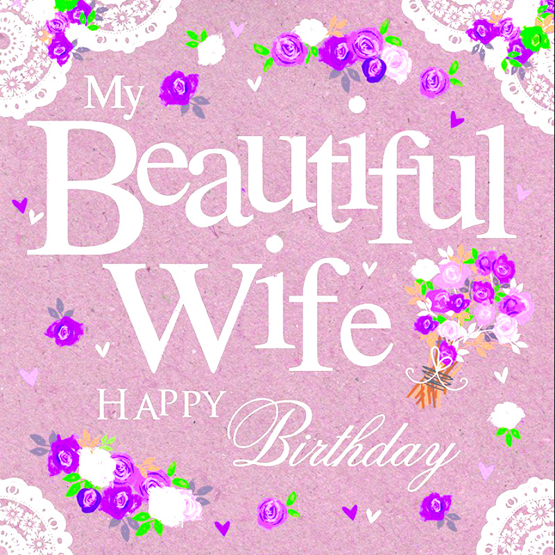 Happy Birthday Wallpaper For Wife