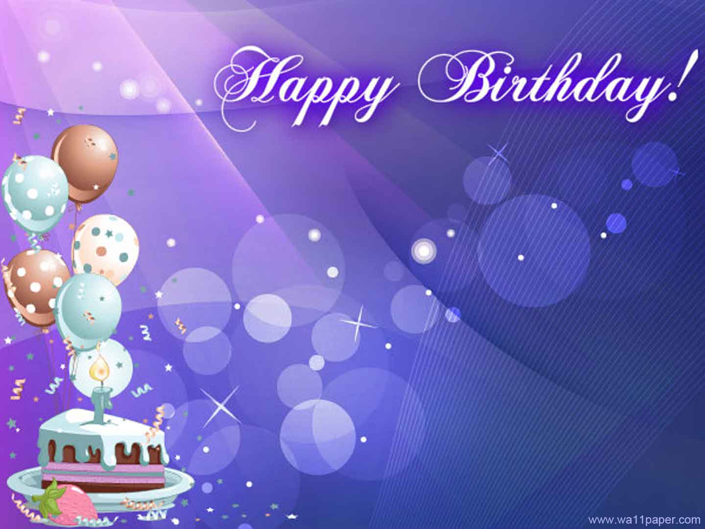 Happy Bithday Wallpaper