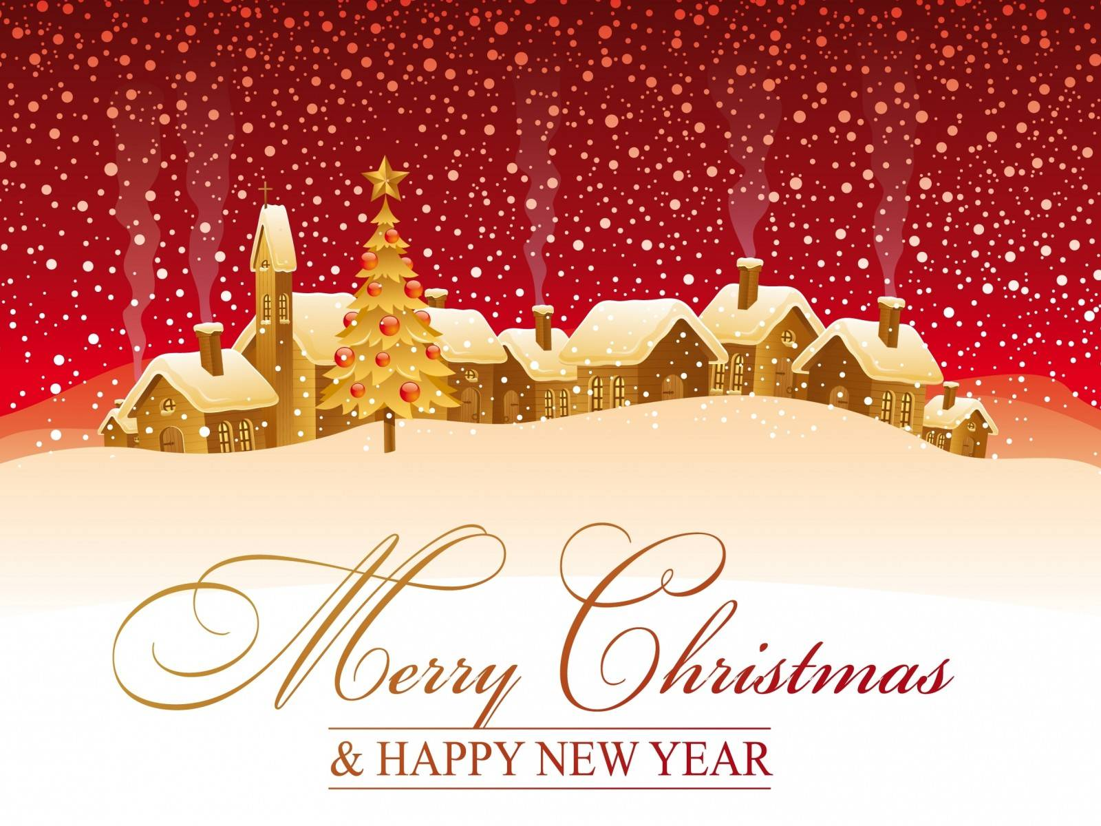 Happy Christmas Wallpaper Download