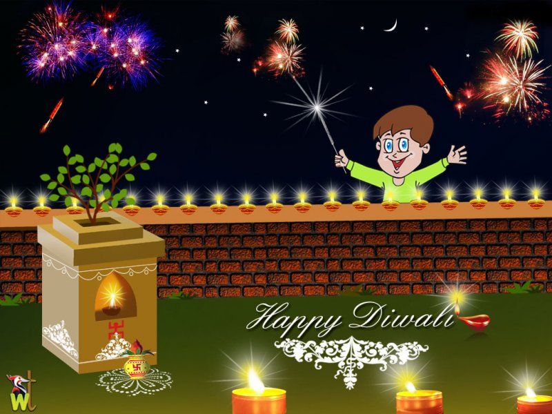 Happy Diwali Images Wallpapers 2012