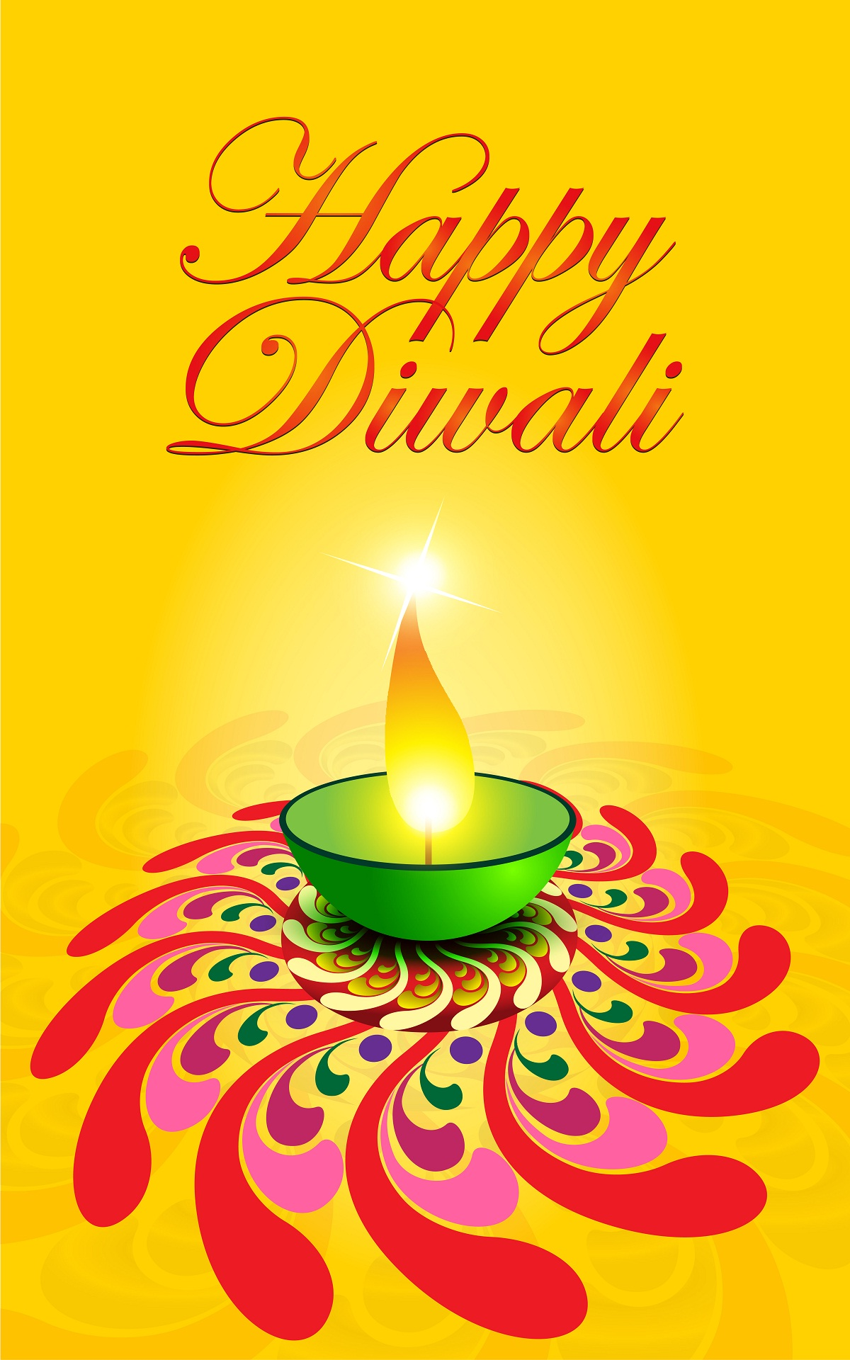 Happy Diwali Mobile Wallpaper