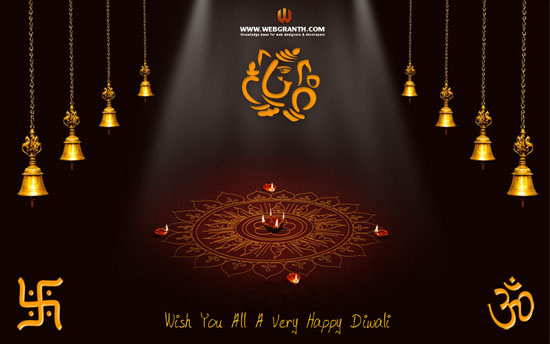 Happy Diwali Wallpaper 2012