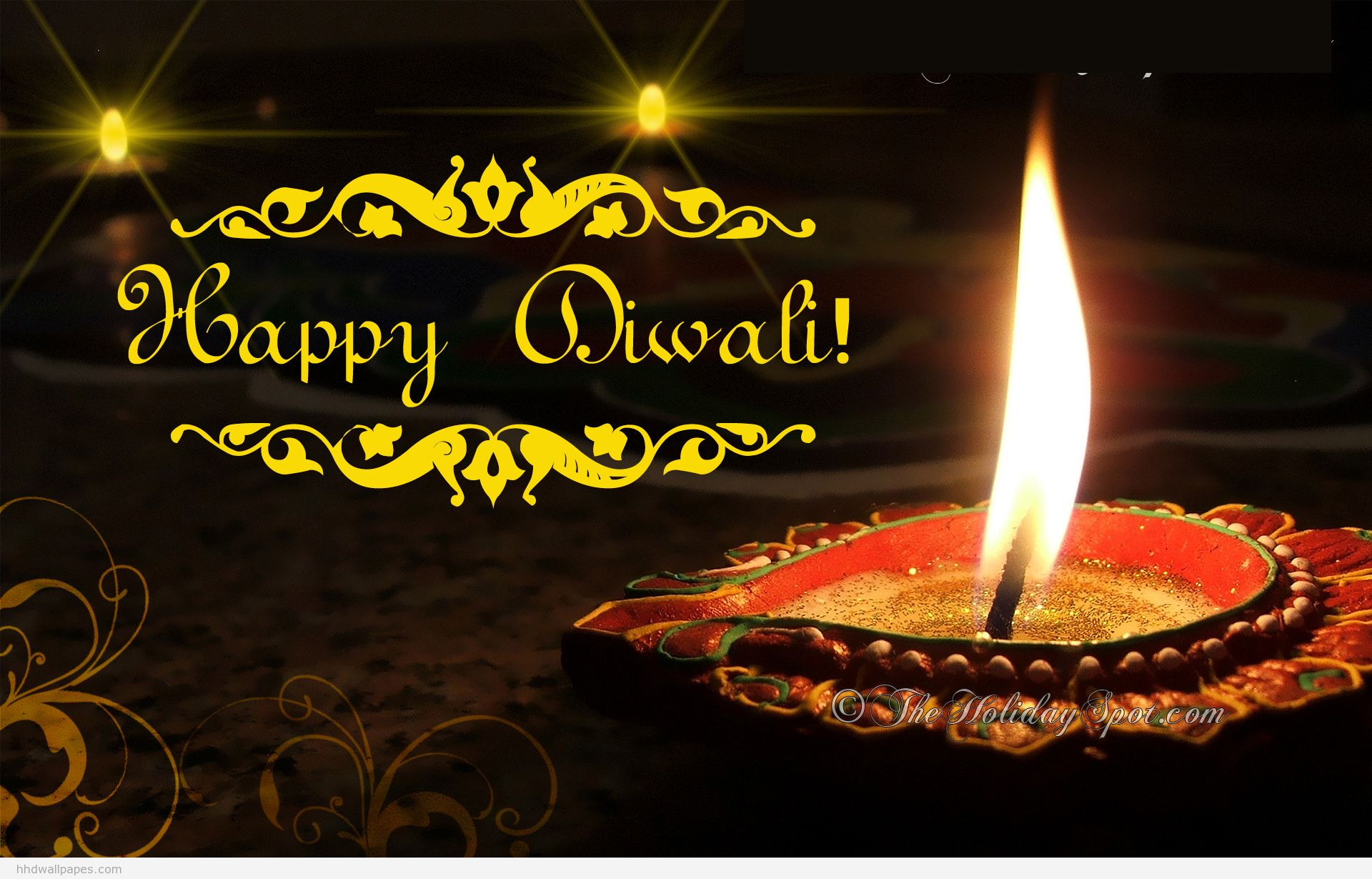 Happy Diwali Wallpaper HD Widescreen