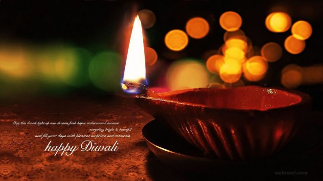 Happy Diwali Wishes Wallpaper