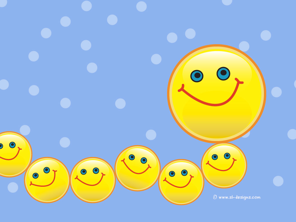 Download smiley face wallpaper hd wallpaper - Happy Face Wallpapers