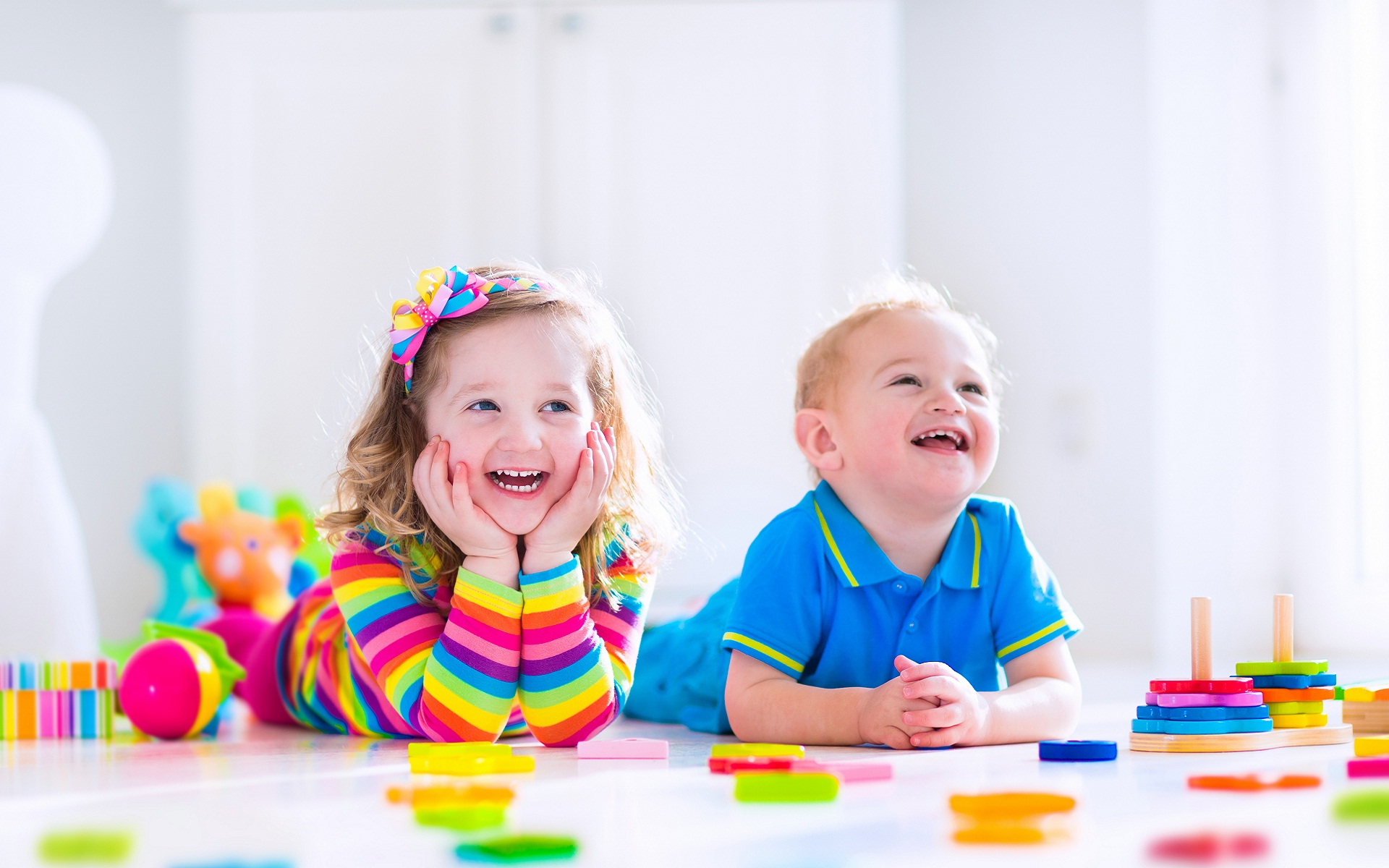 Happy Kids Wallpaper