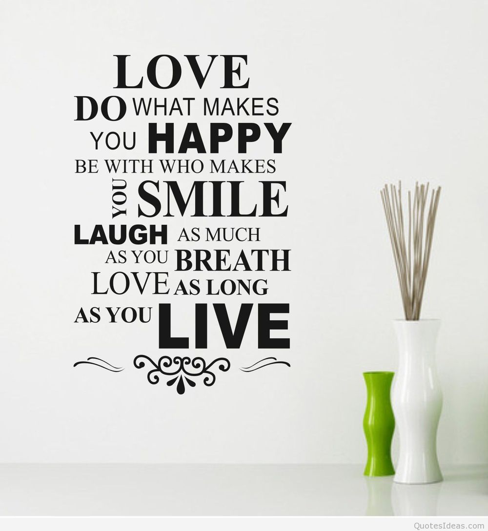 Happy Life Quotes Wallpapers