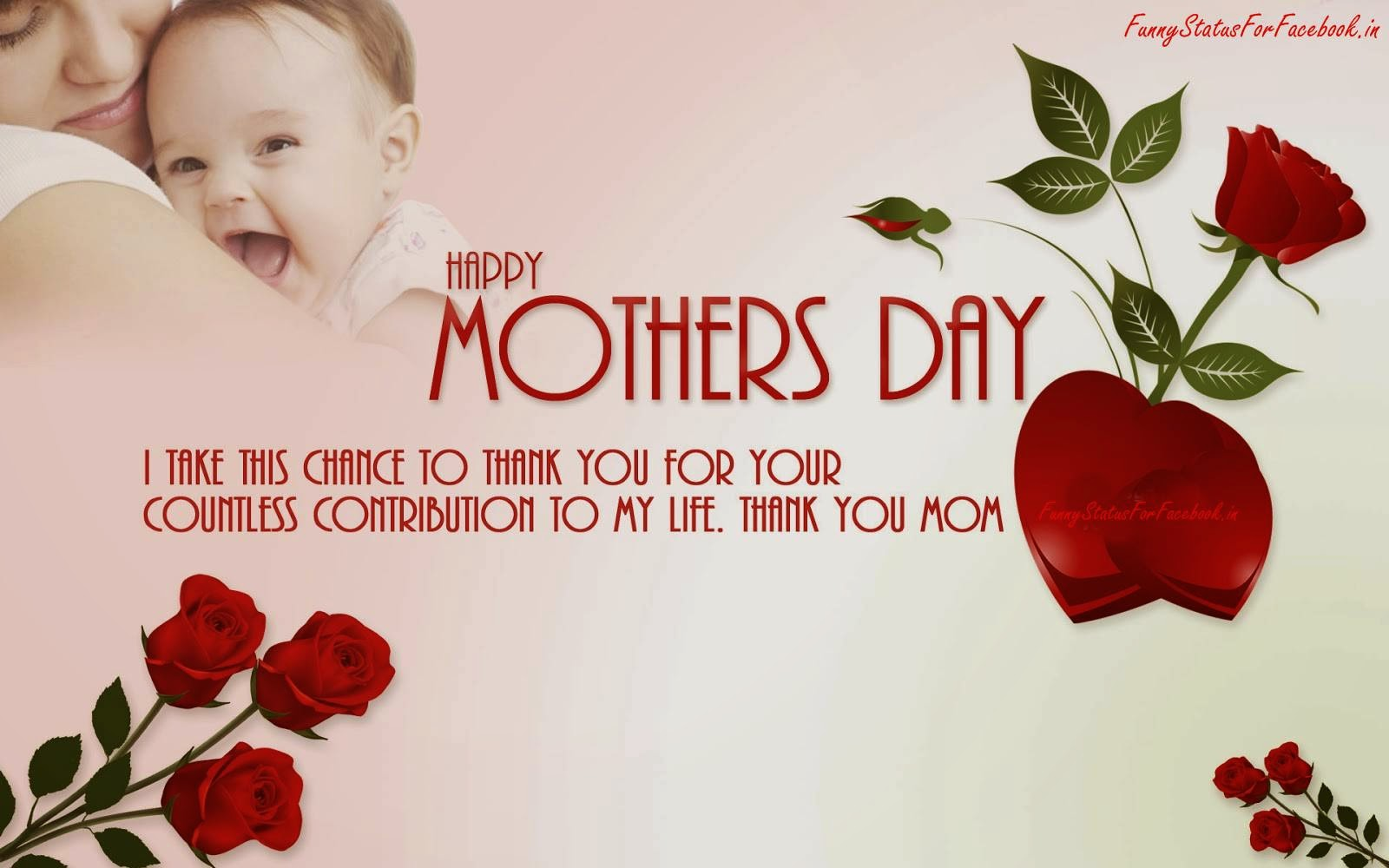 Happy Mothers Day Wallpaper With Quotes
