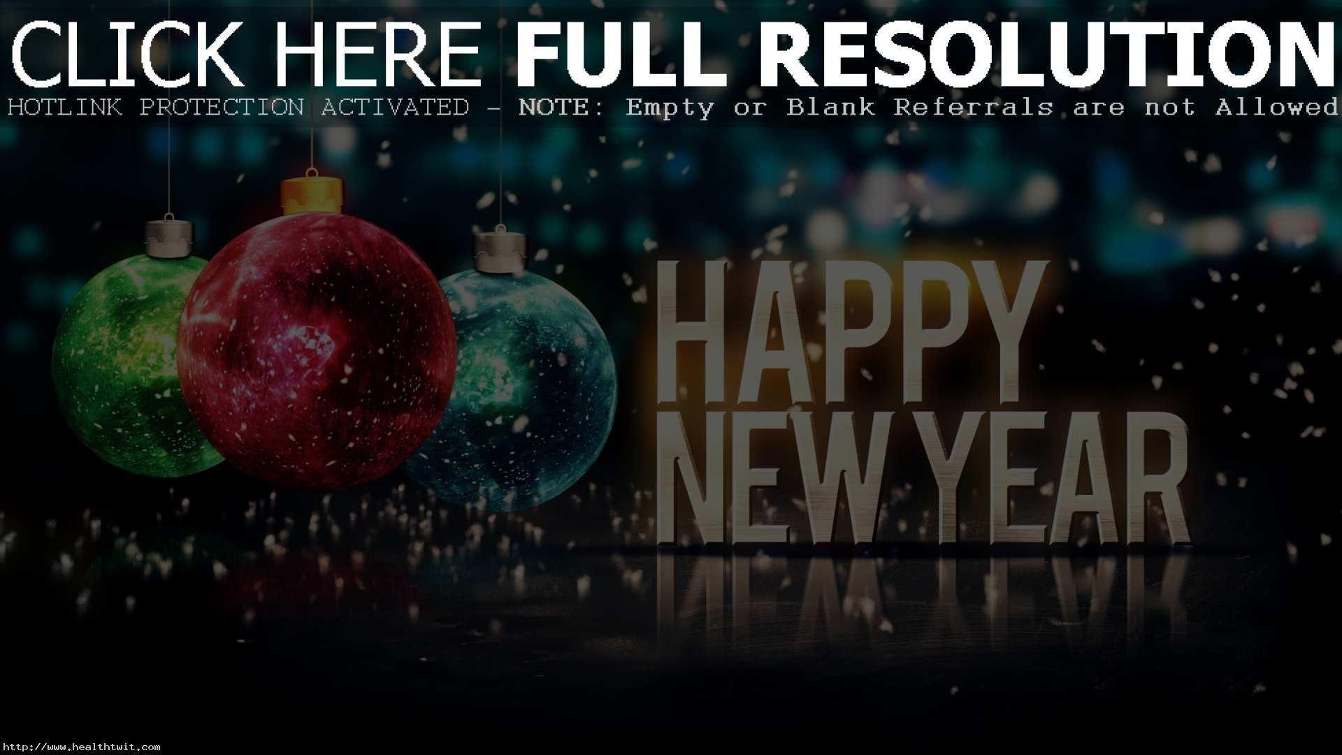 Happy New Year Desktop Wallpapers