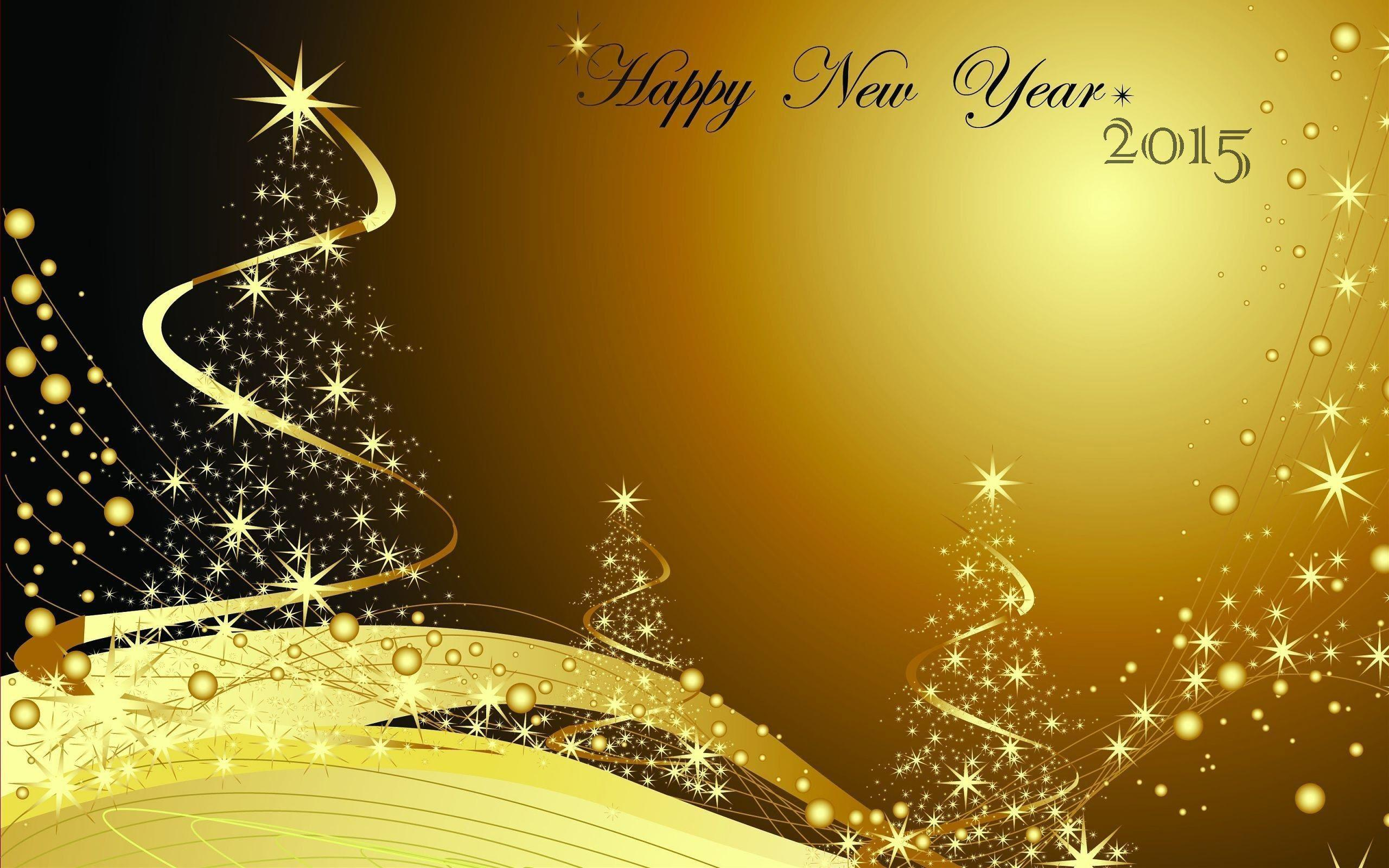 Happy New Year High Resolution Wallpaper
