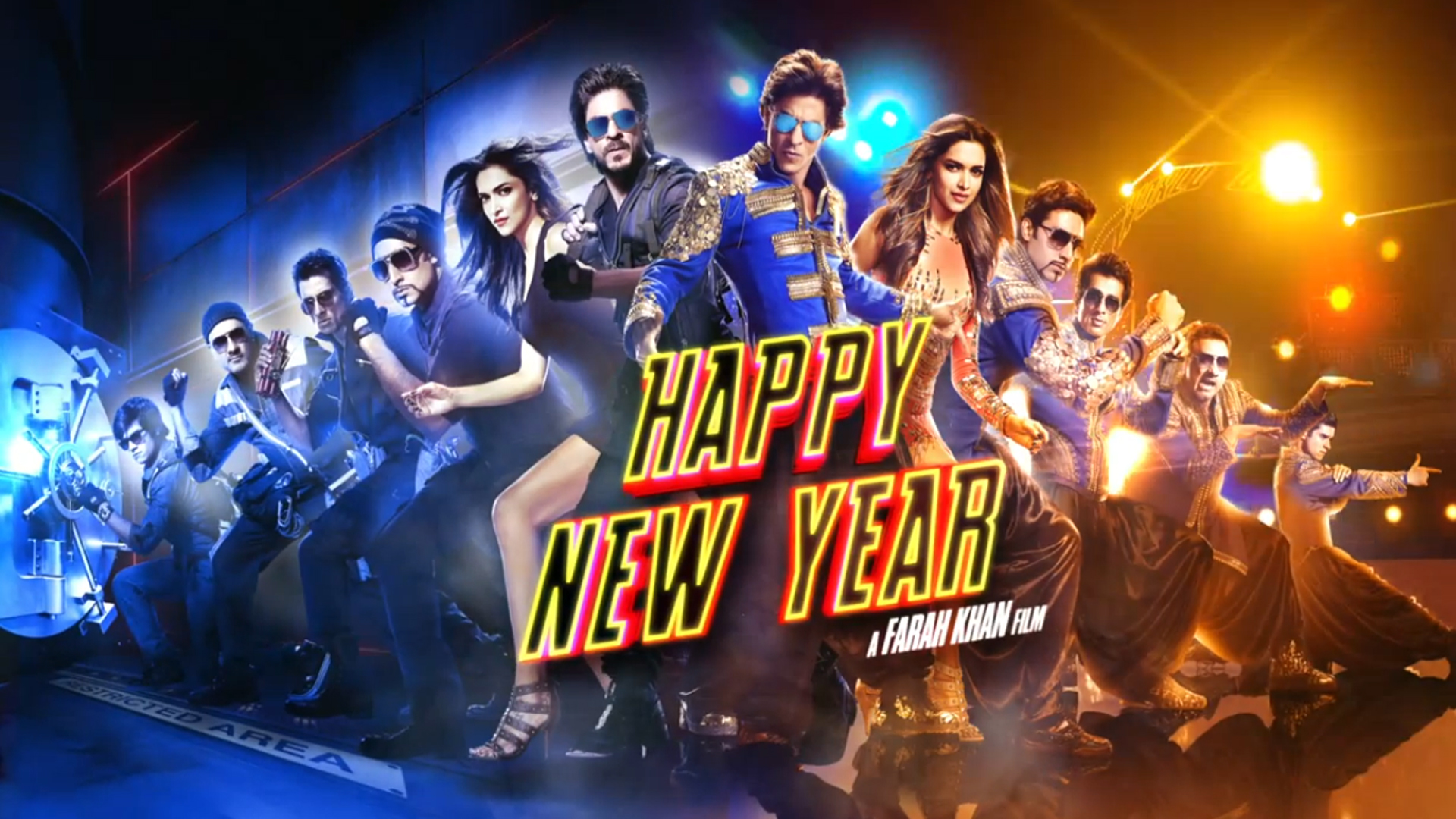 Happy New Year Movie HD Wallpaper