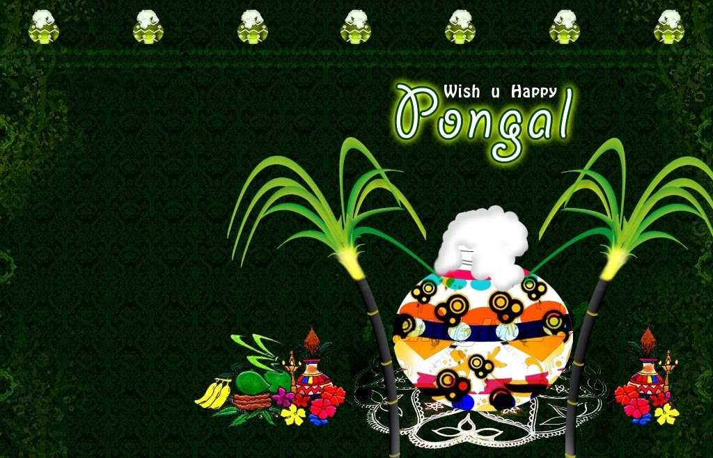 Happy Pongal 2014 Wallpapers