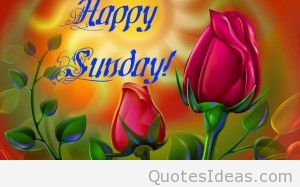 Happy Sunday Wallpaper Free Download