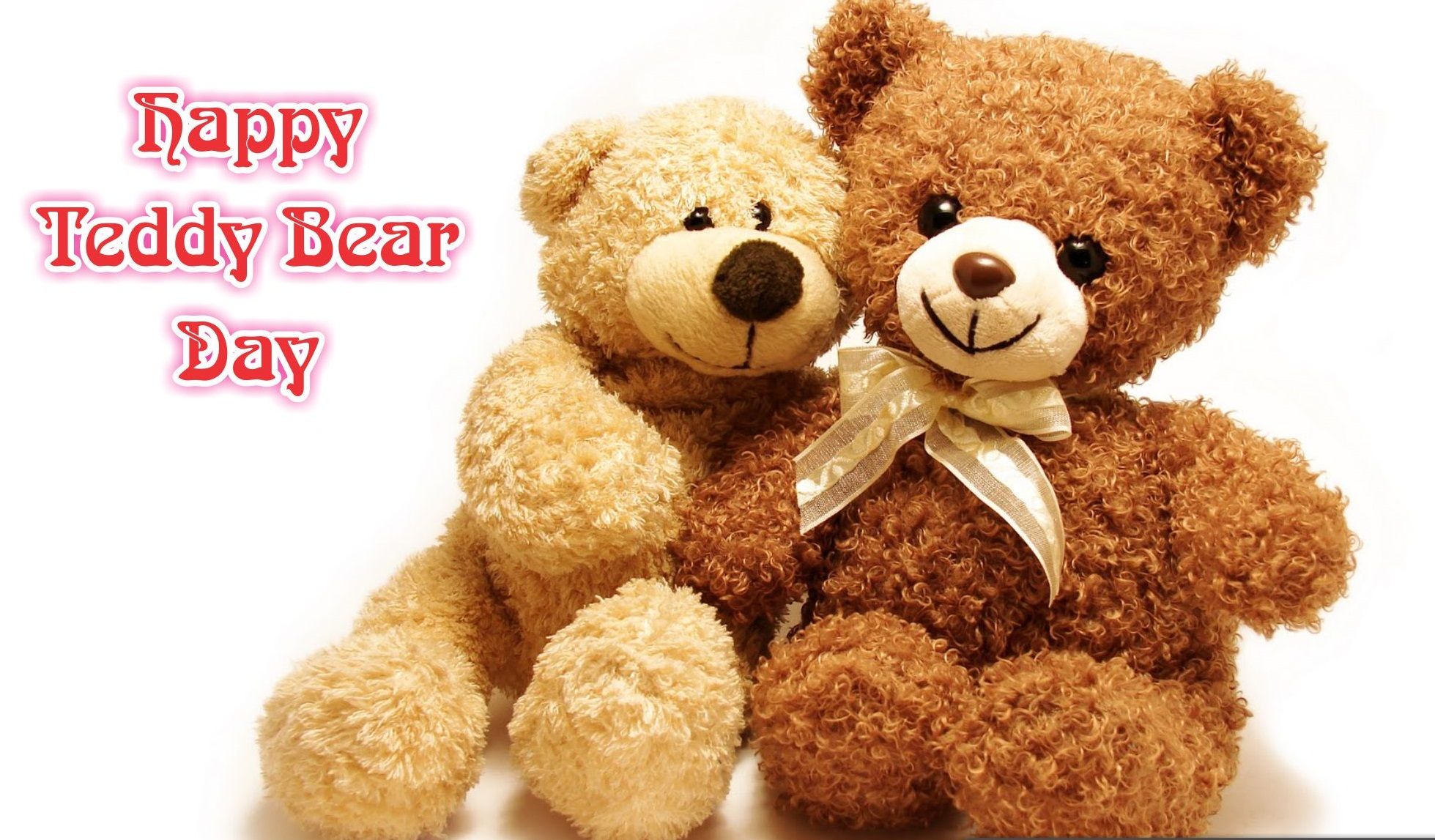 Happy Teddy Bear Wallpaper