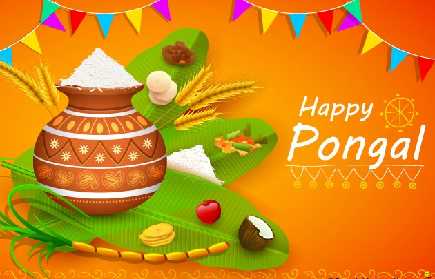 Happy Thai Pongal Wallpapers