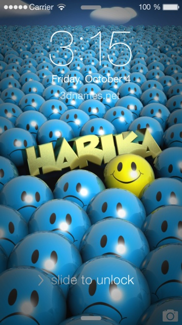Harika Name Wallpapers