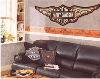 Harley Davidson Wallpaper Border Shop