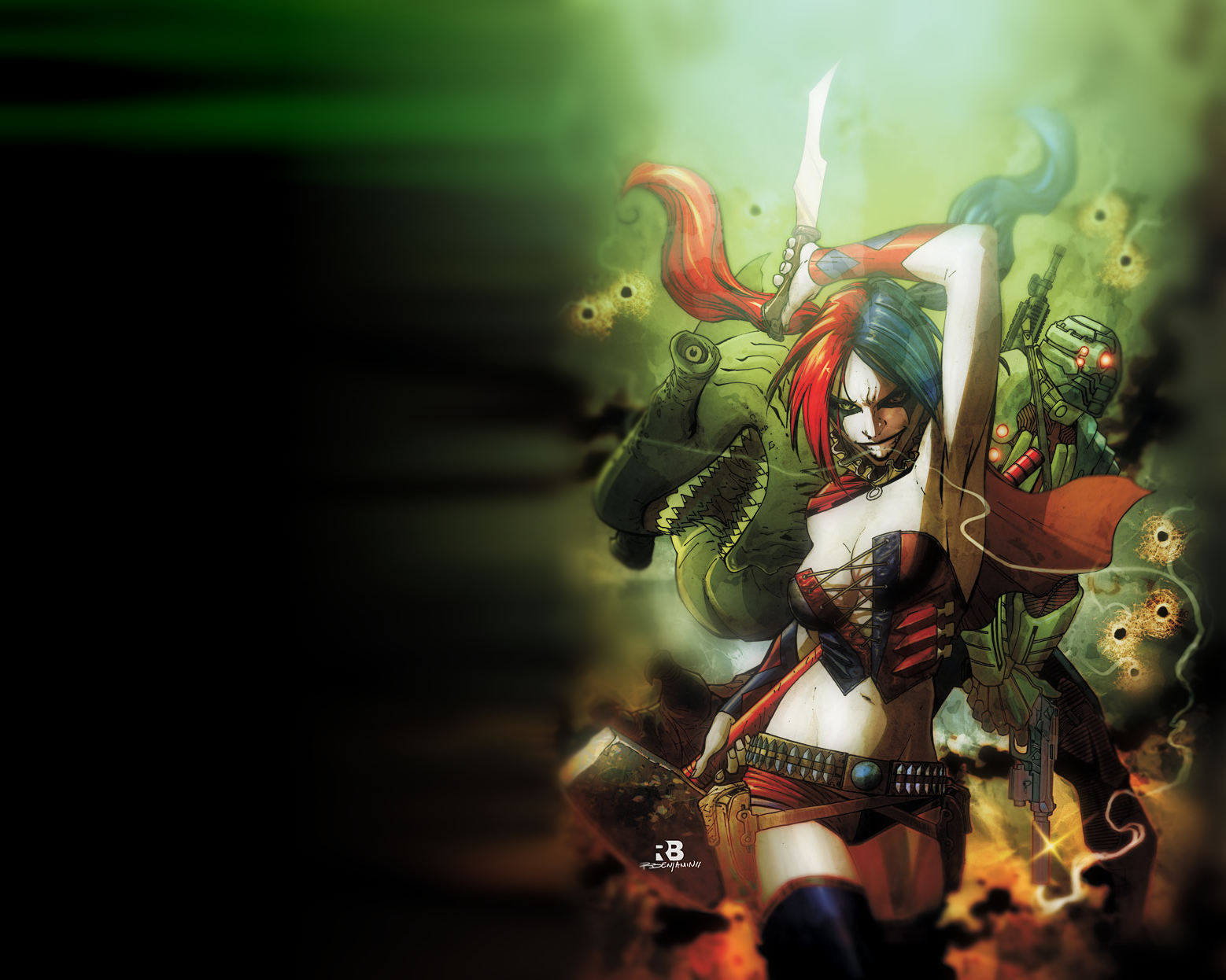Download Harley Quinn New 52 Wallpaper Gallery