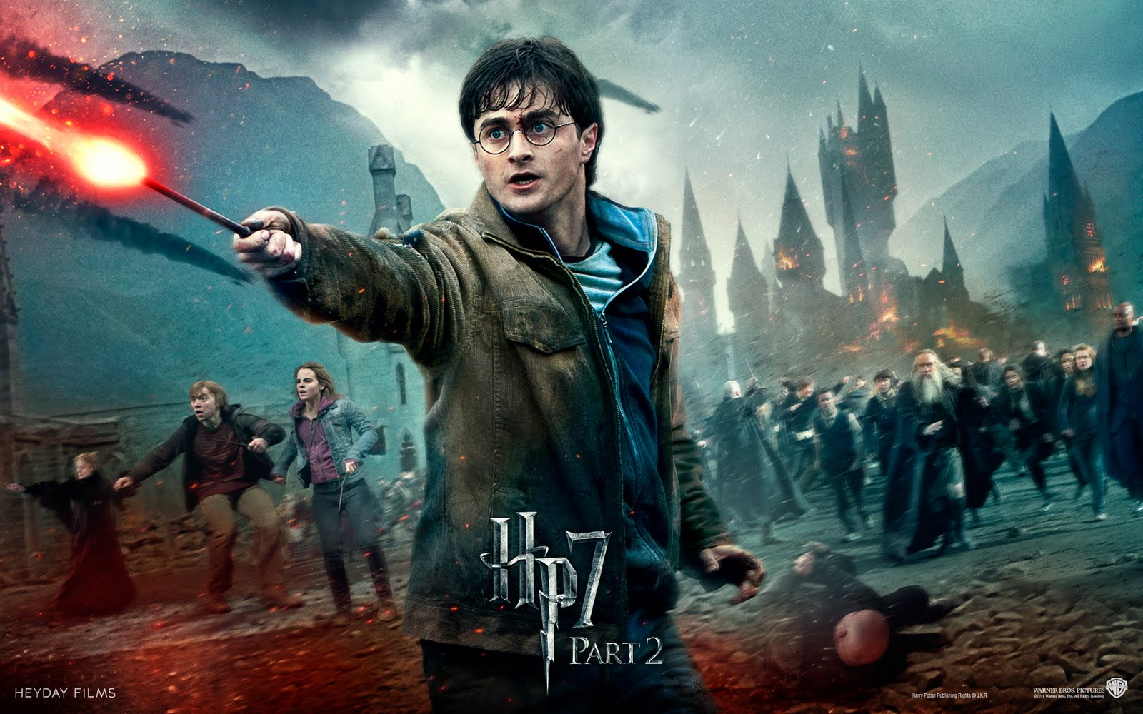 Harry Potter Deathly Hallows Part 2 Wallpaper