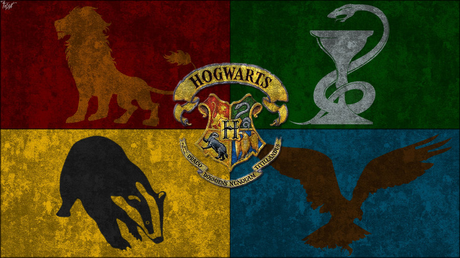 Harry Potter Houses Wallpaper