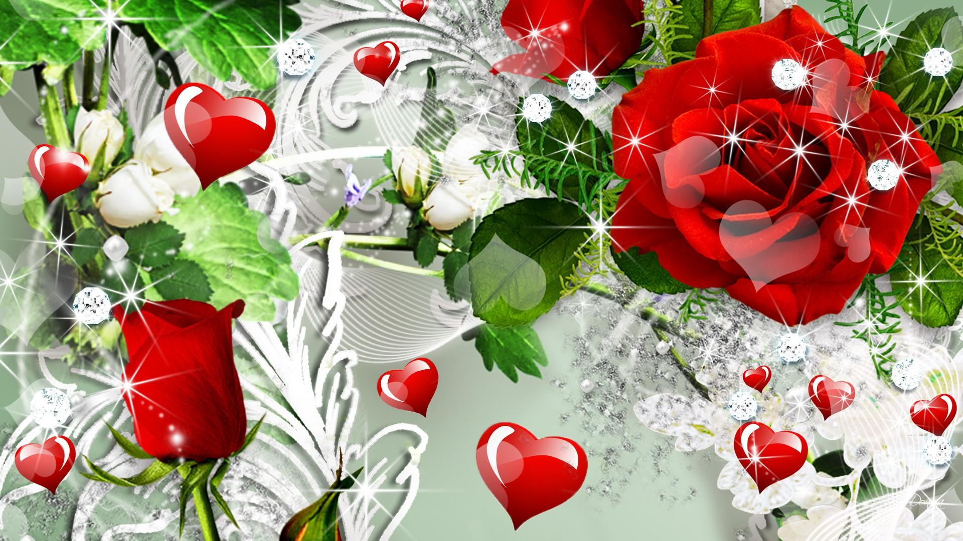 Heart Rose HD Wallpapers