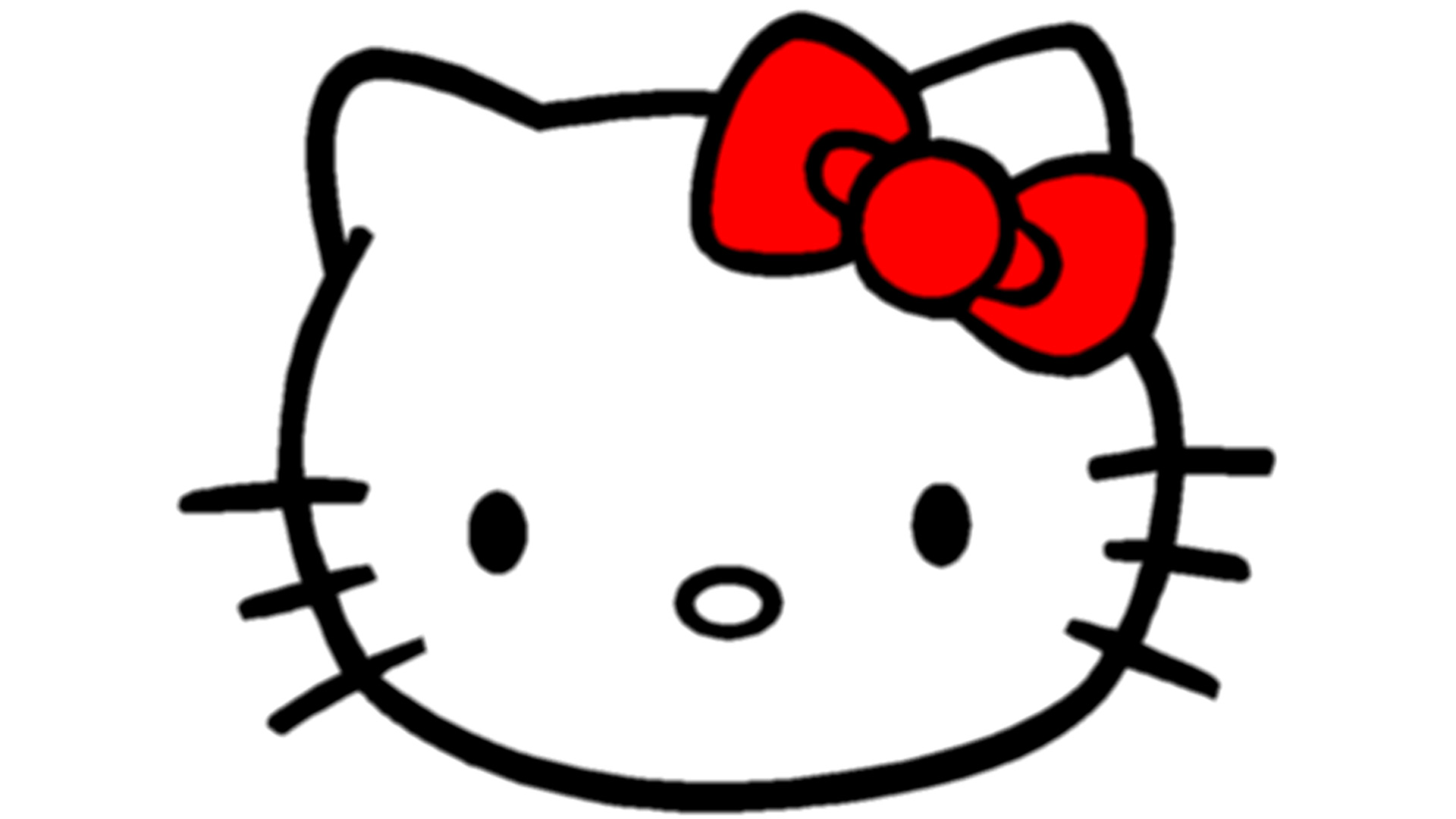 Hello Kitty Head Wallpaper