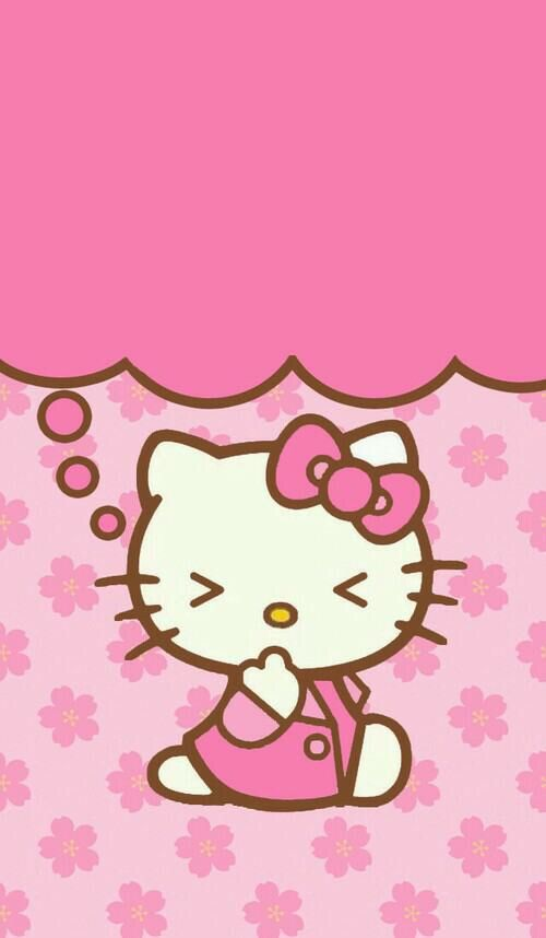 Download hello kitty pink wallpaper gallery hello kitty pink wallpaper voltagebd Gallery