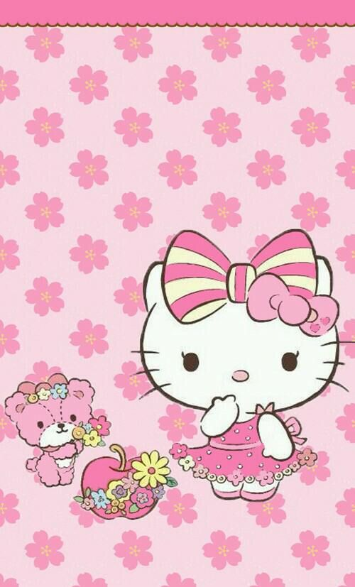 Download Hello Kitty Pink Wallpaper Gallery