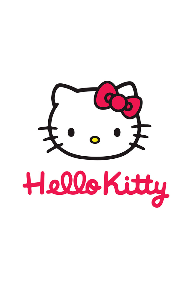 Hello Kitty White Wallpaper