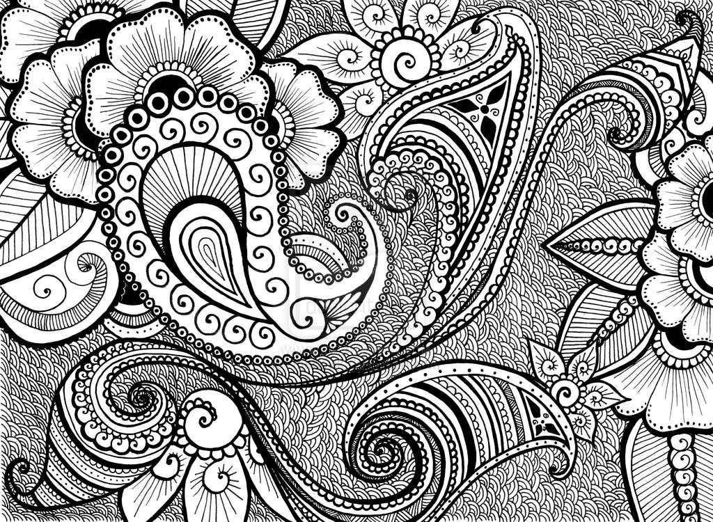 Henna Design Wallpaper