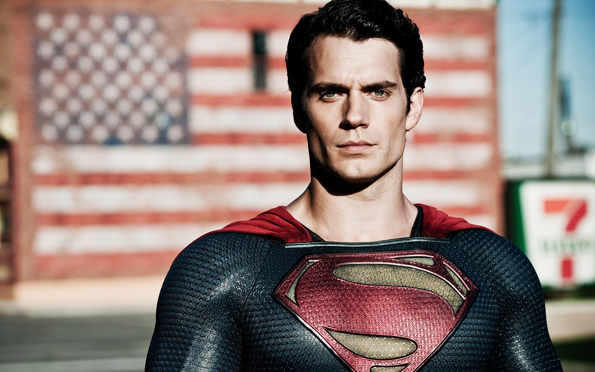 Henry Cavill Man Of Steel Wallpaper
