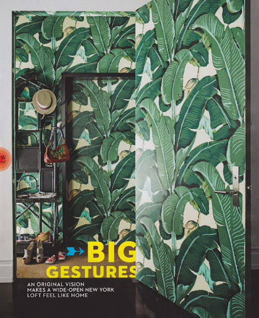 Hinson &Amp; Co Wallpaper Martinique In Green