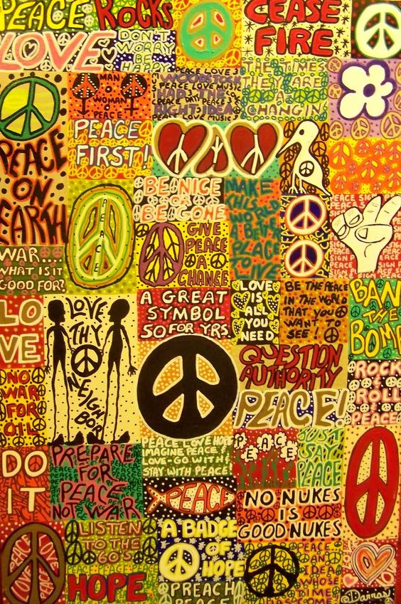 Hippie Art Wallpaper