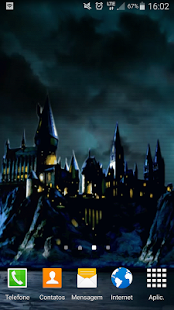 Hogwarts Live Wallpaper