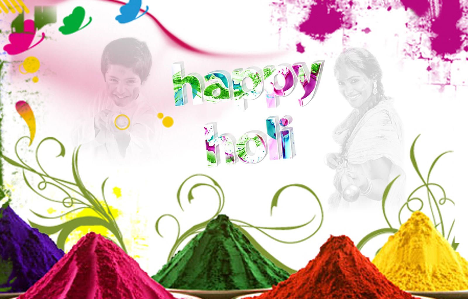 Holi Wallpaper HD Download